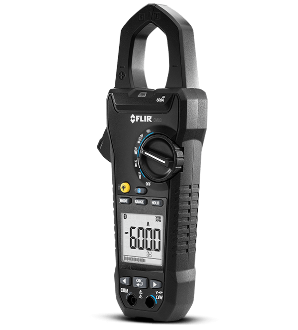 FLIR CM83 600A True RMS Power Clamp Meter