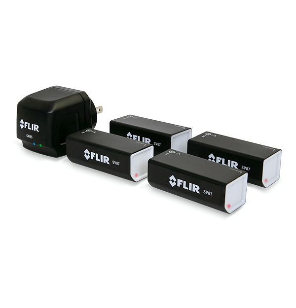 FLIR SV87 Kit Wireless Vibration/Temperature Monitoring Solution